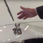 Czy da się ukraść znaczek Rolls Royce? Nietak łatwo!