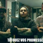 Salon oferuje politykom darmowy tatuaż zich obietnicami.