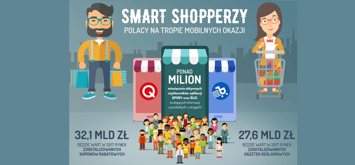 Smart shopperzy – Polacy natropie mobilnych okazji.