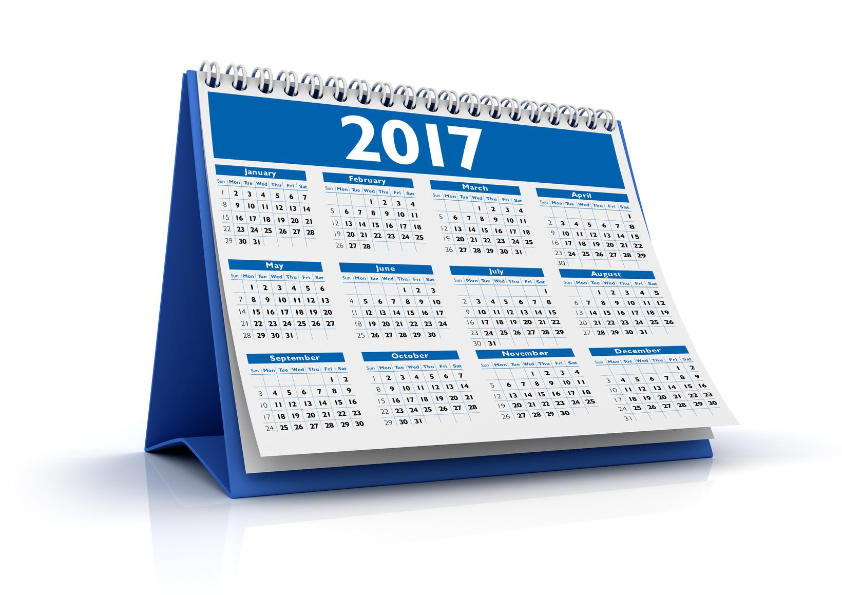 Kalendarze biurkowe – pomysł naprezent dla klientów ipracowników